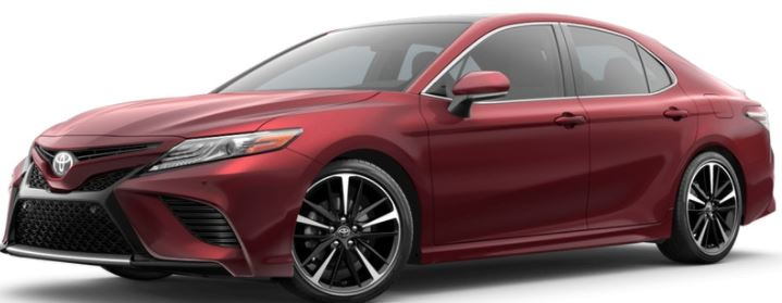 2018 Toyota Camry Ruby Flare Pearl