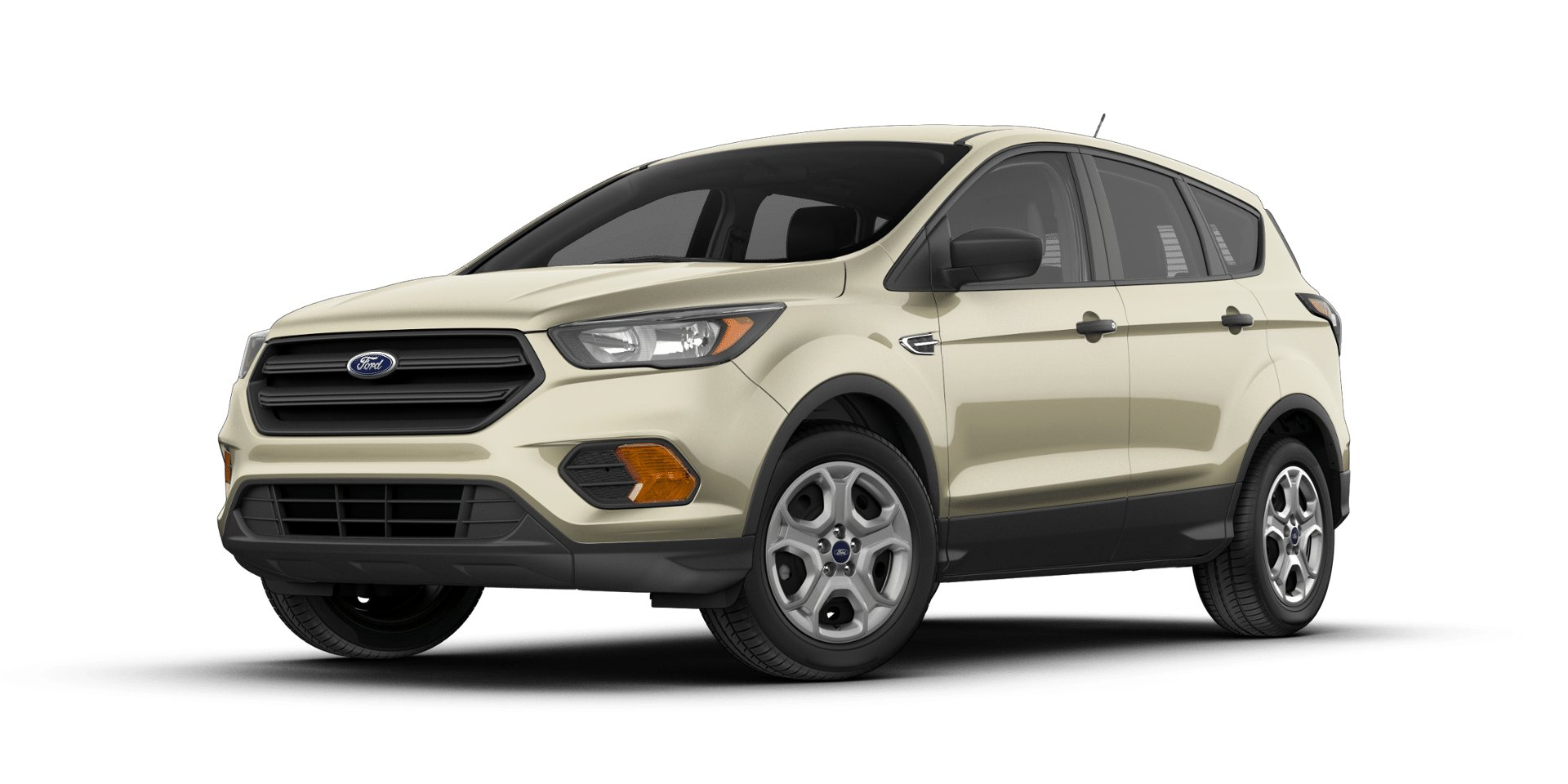 2018 Ford Escape White Gold Side View