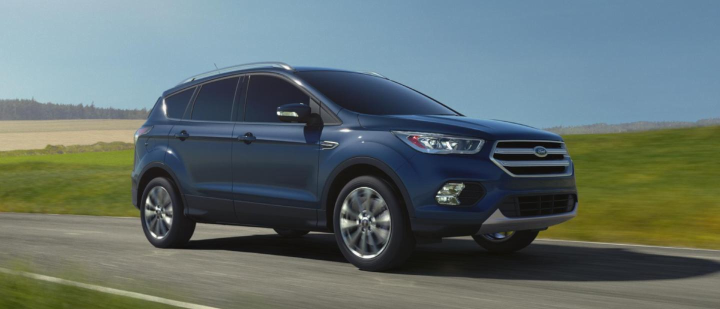 2018 ford escape blue metallic