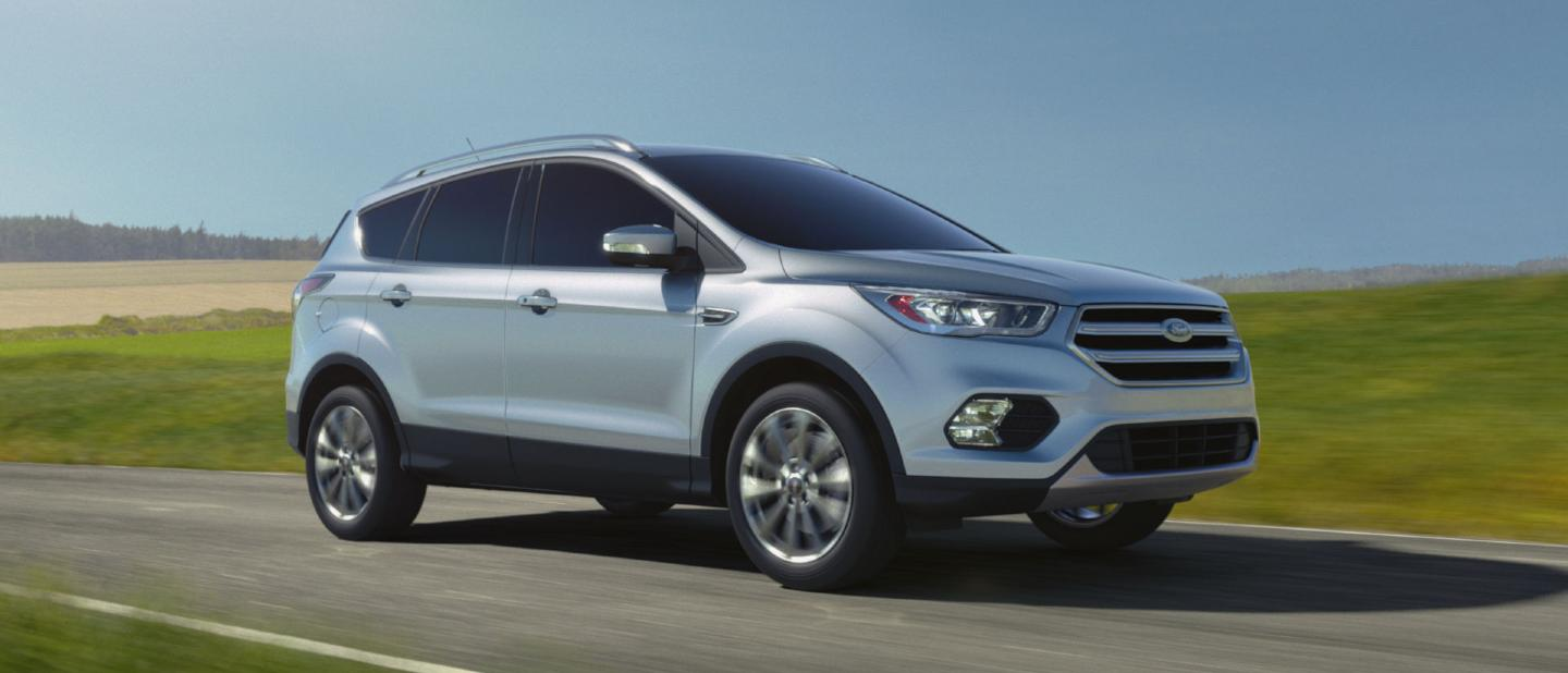 2018 ford escape ingot silver