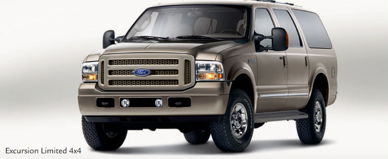 2005 Ford Excursion With Brown Exterior Earance Package