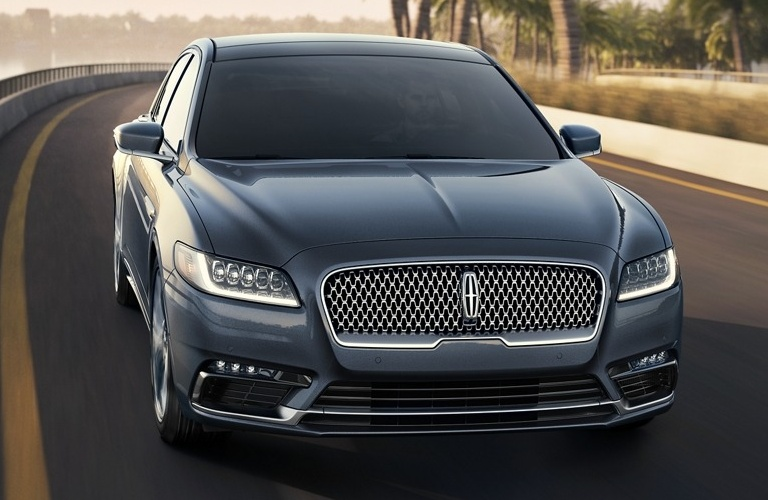 2020 Lincoln Continental going down the road