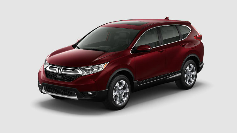 2018 honda cr v exterior color options for Honda crv 2017 vs 2018