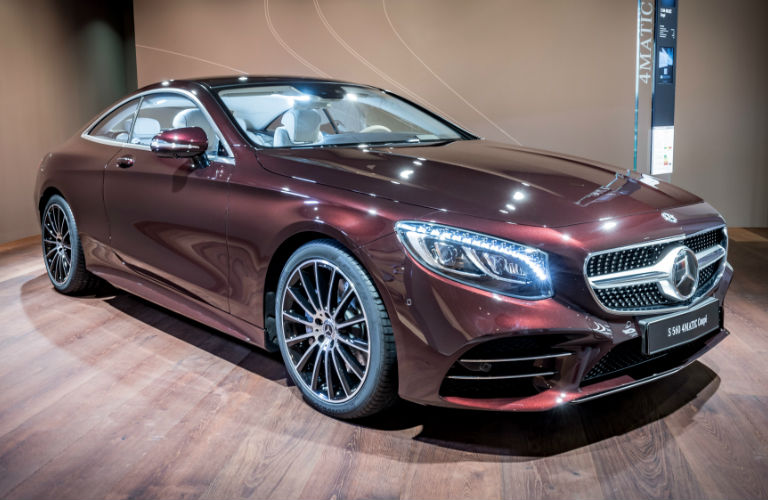 2019 S-Class Coupe Exclusive Edition in Rubellite Red
