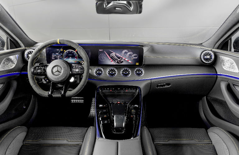 2019 AMG GT Coupe Edition 1 Command Center