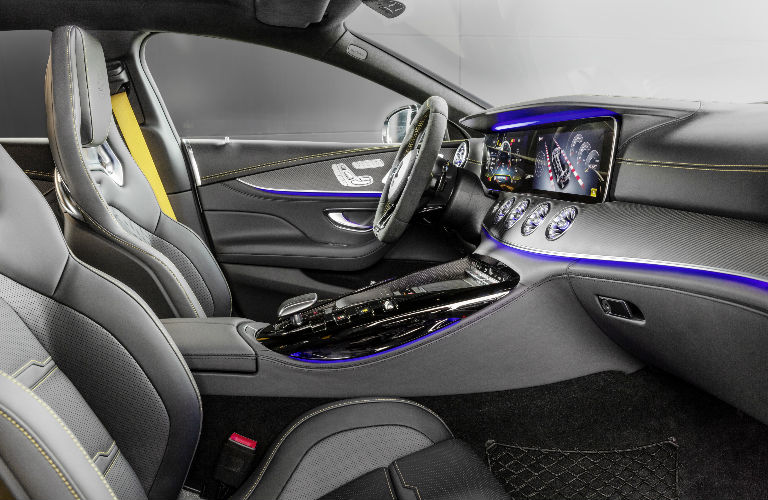 2019 AMG GT Coupe Edition 1 Front Seats