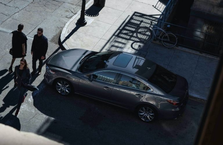 2021 Mazda6 parked on the side of the road