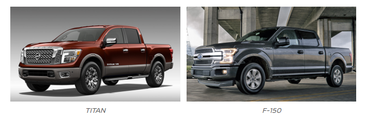 2018 Nissan Titan vs. 2018 Ford F-150