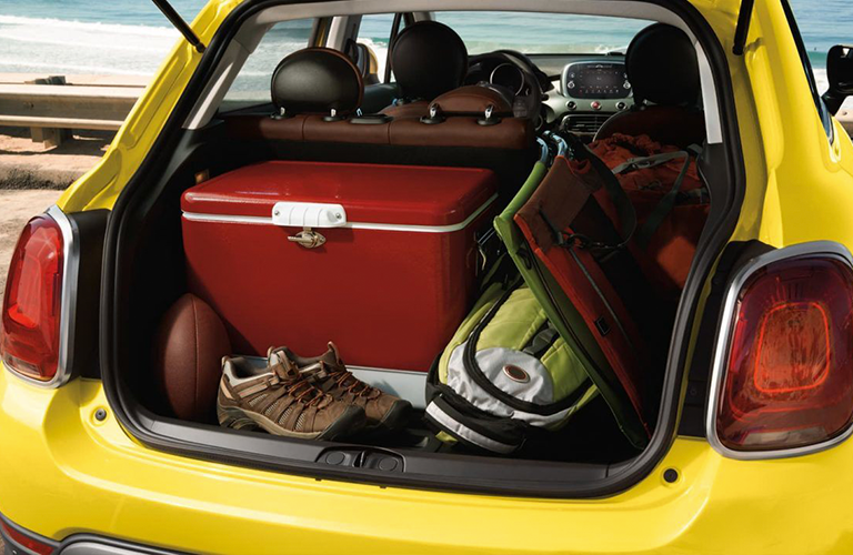 cargo space in 2018 Fiat 500X