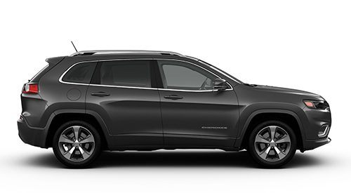 2018 Jeep Cherokee black side view