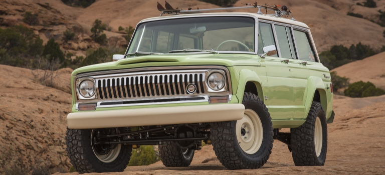 Jeep Wagoneer road trip concept