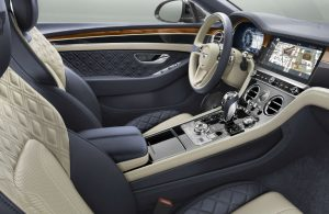 Interior of a Bentley Continental