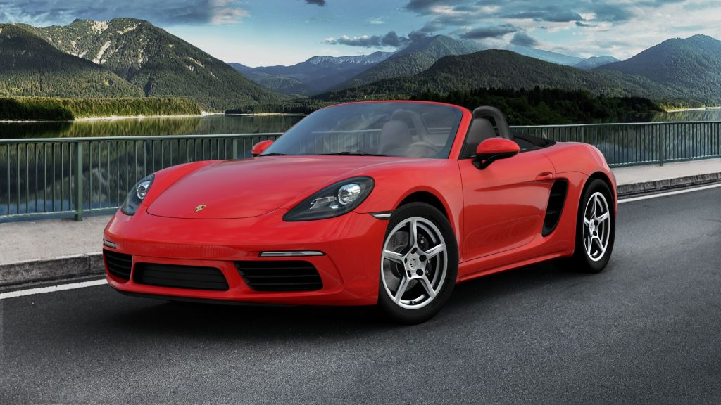 2020 Porsche 718 Boxster in Guards Red
