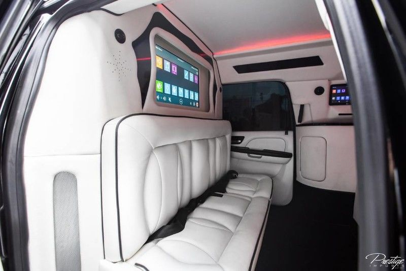 2013 Chevy Suburban CEO JET Edition Mobile Office LT Interior Cabin Divider Wall_d