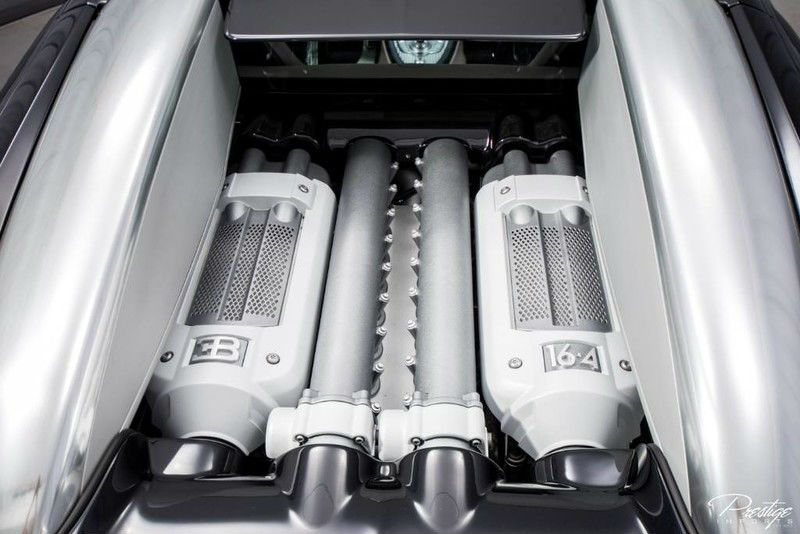 2008 Bugatti Veyron Interior Engine Bay