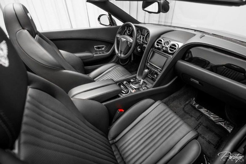 2016 Bentley Continental GT Interior Cabin Front Seat and Dashboard