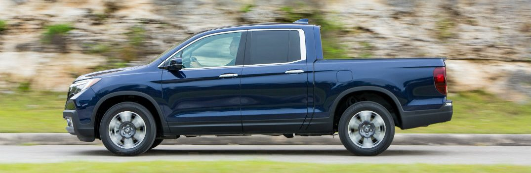 What are the Color Options for the 2019 Honda Ridgeline?