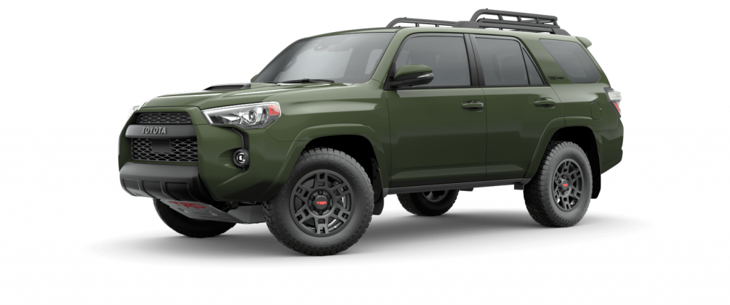 2020 Toyota 4Runner in Army Green