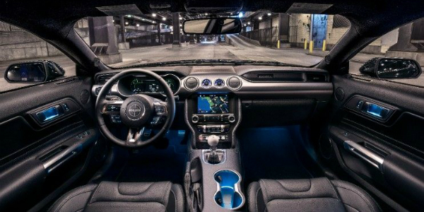 Front Seats Inside of the 2019 Ford Mustang Bullitt Edition