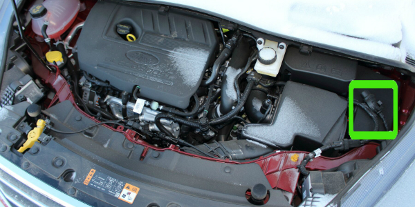 Engine Block Heater on a Ford Escape