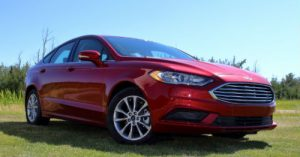 Ford Fusion Ruby Red