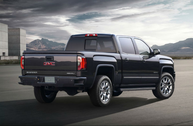 View Of The Back 2018 Gmc Sierra 1500 Denali