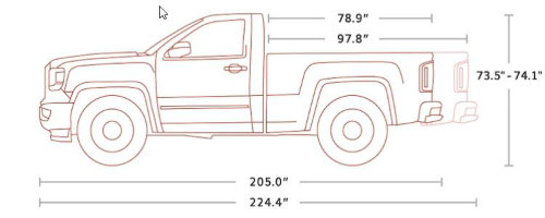 What Are the Different Cab Types for the 2018 GMC Sierra?