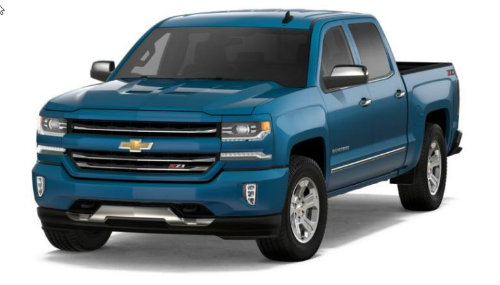 2017 Silverado Colors >> How Many Color Options Are There For The 2018 Chevrolet