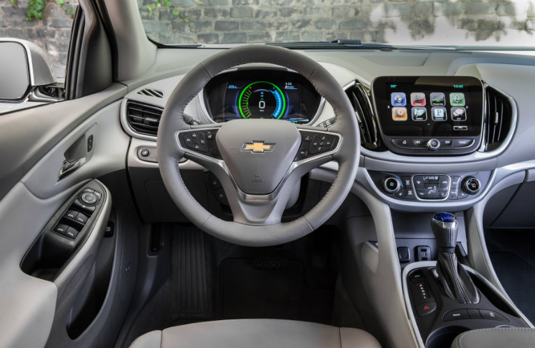 Steering Wheel Inside The 2018 Chevy Volt