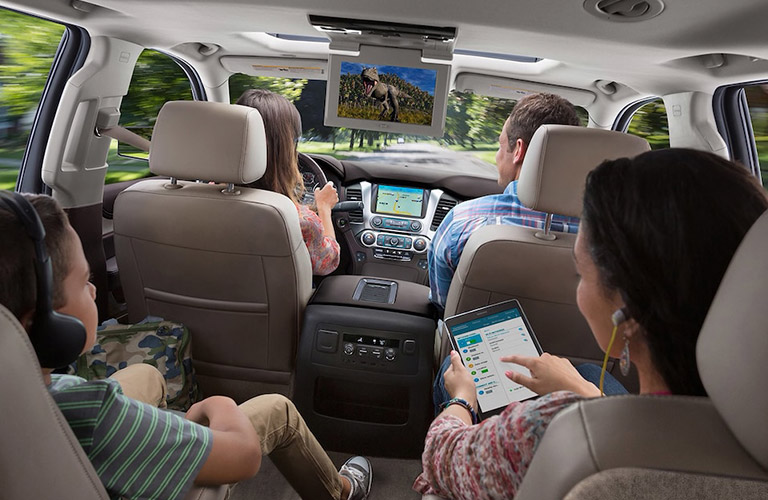 2018 Chevrolet Suburban Comfort And Convenience Features