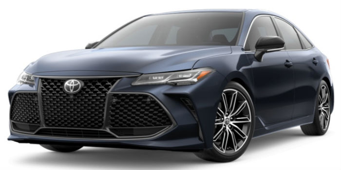 2019 Toyota Avalon Front View of Parisian Night Pearl
