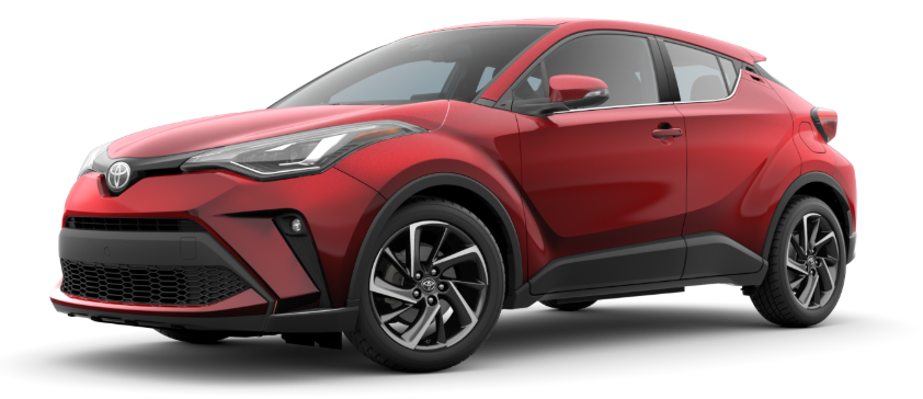 2020 Toyota C-HR in Supersonic Red