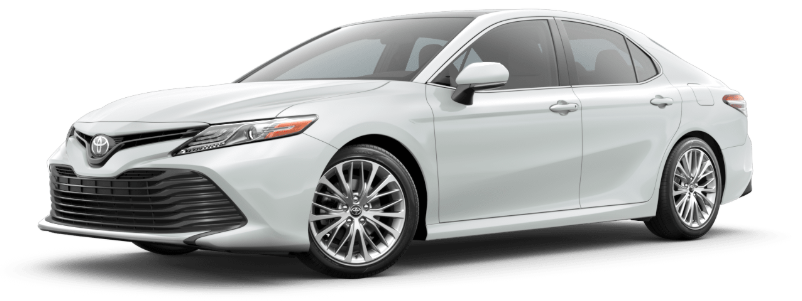 2020 Toyota Camry in Wind Chill Pearl